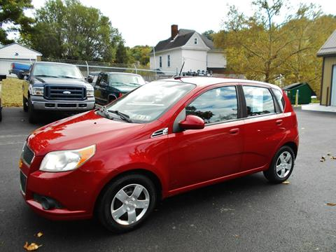 2009 Chevrolet Aveo for sale at Premiere Auto Sales in Washington PA