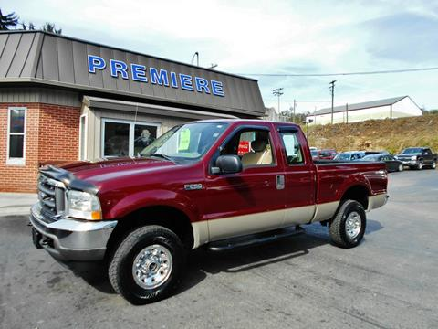 2004 Ford F-250 Super Duty for sale at Premiere Auto Sales in Washington PA