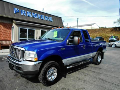 2003 Ford F-250 Super Duty for sale at Premiere Auto Sales in Washington PA