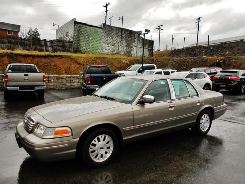 Ford Crown Victoria LX In Washington PA Premiere Auto Sales - 2004 crown victoria