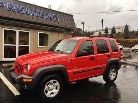 2004 Jeep Liberty for sale in Washington, PA
