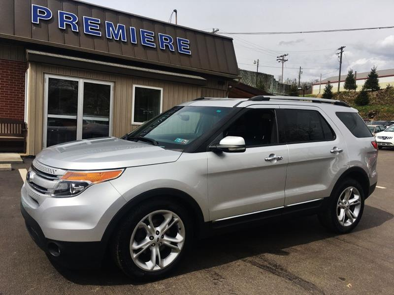 2013 Ford Explorer Awd Limited 4dr Suv In Washington Pa Premiere