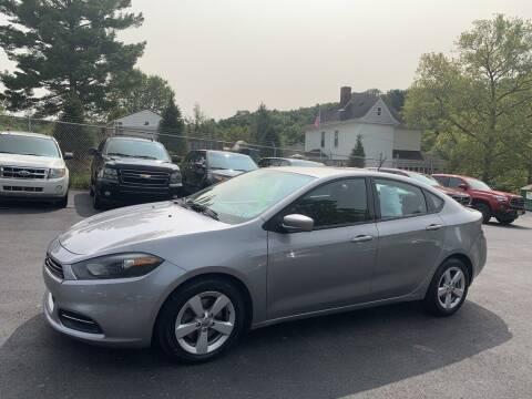 2016 Dodge Dart for sale at Premiere Auto Sales in Washington PA