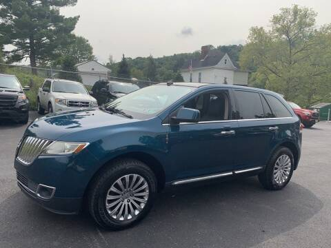 2011 Lincoln MKX for sale at Premiere Auto Sales in Washington PA