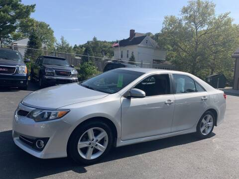 2014 Toyota Camry for sale at Premiere Auto Sales in Washington PA