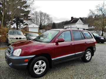 2005 Hyundai Santa Fe for sale at Premiere Auto Sales in Washington PA