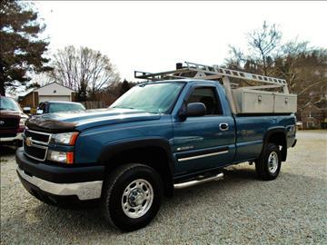 2006 Chevrolet Silverado 2500HD for sale at Premiere Auto Sales in Washington PA