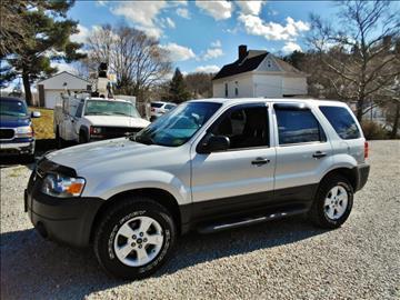 2007 Ford Escape for sale at Premiere Auto Sales in Washington PA