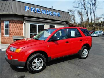 2003 Saturn Vue for sale at Premiere Auto Sales in Washington PA