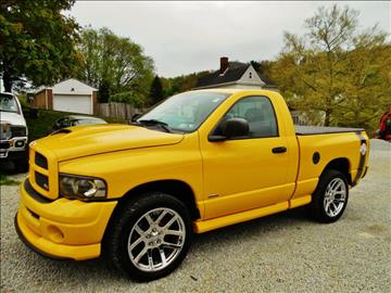2004 Dodge Ram Pickup 1500 for sale at Premiere Auto Sales in Washington PA