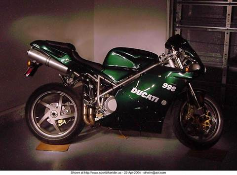 2004 Ducati 998  for sale at Music City Rides in Nashville TN