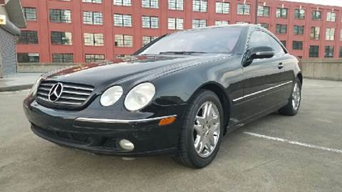 2001 Mercedes-Benz CL-Class for sale at Music City Rides in Nashville TN