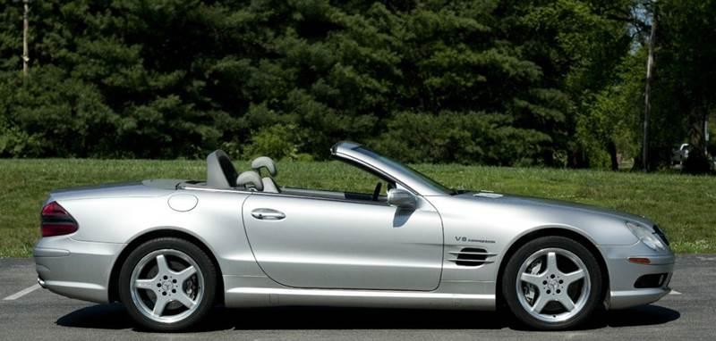 2004 mercedes benz sl class nashville tn nashville for Mercedes benz music city nashville