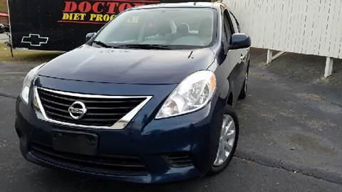 2012 Nissan Versa for sale at Music City Rides in Nashville TN