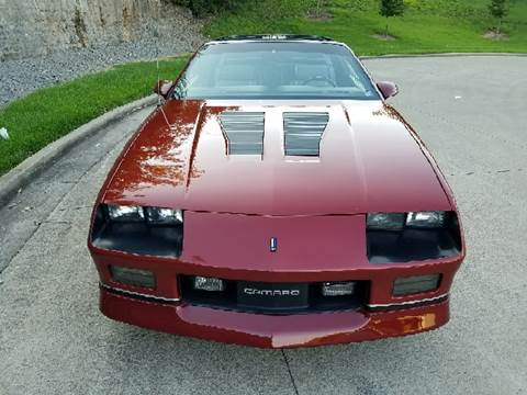 1987 Chevrolet Camaro for sale at Music City Rides in Nashville TN