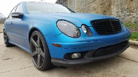 2004 Mercedes-Benz E-Class for sale at Music City Rides in Nashville TN