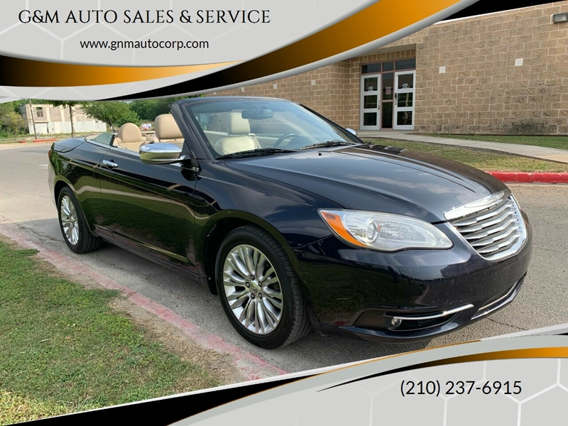 2011 Chrysler 200 Convertible Limited 2dr Convertible In