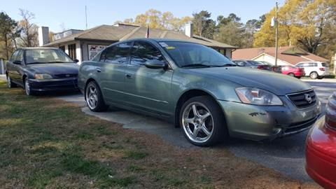 2003 Nissan Altima for sale at WIGGLES AUTO SALES INC in Mableton GA