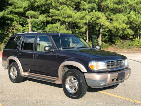 2000 Ford Explorer for sale at WIGGLES AUTO SALES INC in Mableton GA