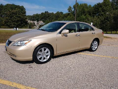 2007 Lexus ES 350 for sale at WIGGLES AUTO SALES INC in Mableton GA