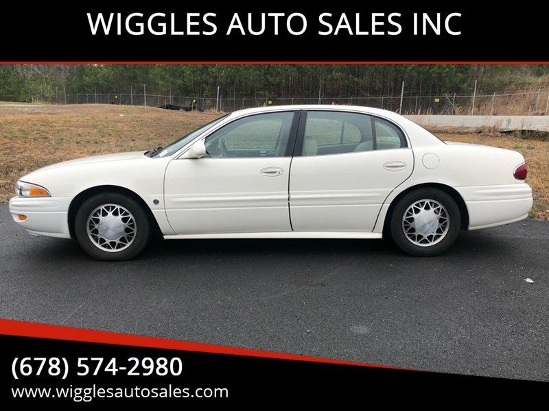 2004 buick lesabre custom 4dr sedan in mableton ga wiggles auto sales inc 2004 buick lesabre custom 4dr sedan in