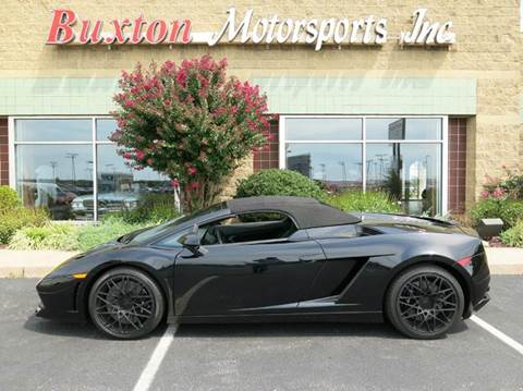 2010 Lamborghini Gallardo for sale at Buxton Motorsports Inc. - Evansville in Buxton Plaza IN