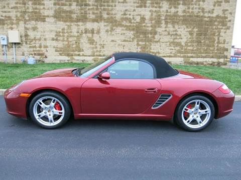 2008 Porsche Boxster for sale at Buxton Motorsports Inc. - Evansville in Buxton Plaza IN