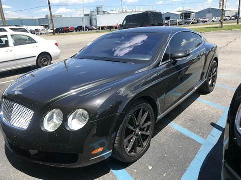 for gt continental bentley used sale