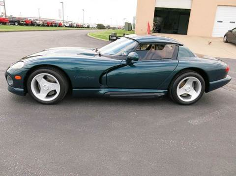 1995 Dodge Viper for sale at Buxton Motorsports Inc. - Evansville in Buxton Plaza IN