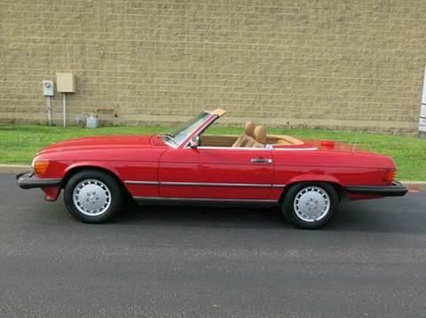 1986 Mercedes-Benz 560-Class for sale at Buxton Motorsports Inc. - Evansville in Buxton Plaza IN