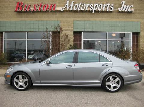 2007 Mercedes-Benz S-Class for sale at Buxton Motorsports Inc. - Evansville in Buxton Plaza IN