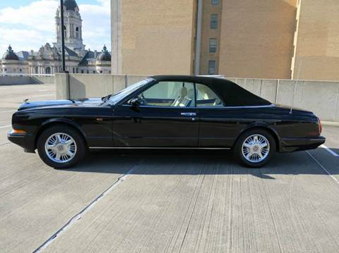 1997 Bentley Azure for sale at Buxton Motorsports Inc. - Evansville in Buxton Plaza IN