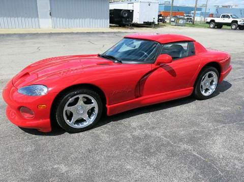 1998 Dodge Viper for sale at Buxton Motorsports Inc. - Evansville in Buxton Plaza IN
