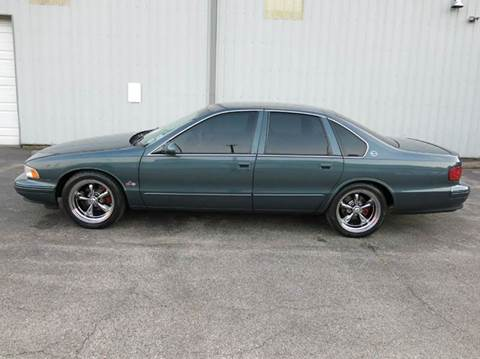 1995 Chevrolet Impala for sale at Buxton Motorsports Inc. in Evansville IN