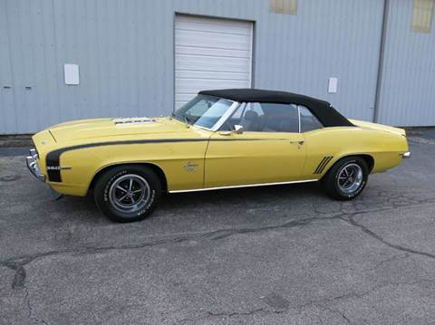 1969 Chevrolet Camaro for sale at Buxton Motorsports Inc. - Evansville in Buxton Plaza IN