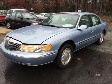 1998 Lincoln Continental for sale in Durham, NC