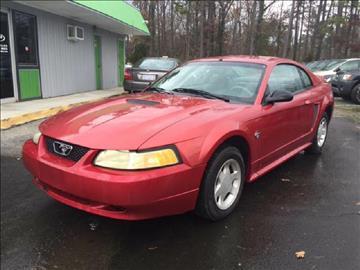 1999 Ford Mustang & Used Cars Durham Car Loans Raleigh NC Durham NC RTP Auto Sales Inc. markmcfarlin.com