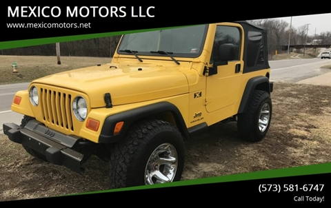 2004 Jeep Wrangler for sale in Mexico, MO