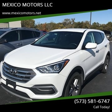 2018 Hyundai Santa Fe Sport for sale at MEXICO MOTORS LLC in Mexico MO