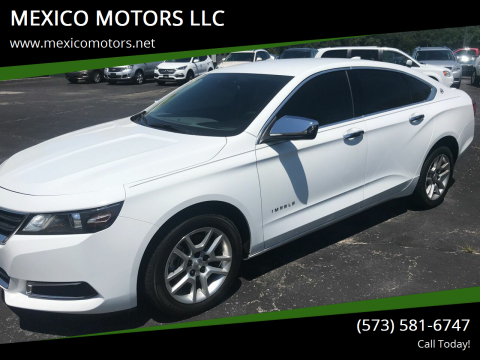 2017 Chevrolet Impala for sale at MEXICO MOTORS LLC in Mexico MO
