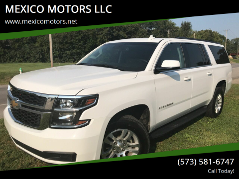2019 Chevrolet Suburban for sale at MEXICO MOTORS LLC in Mexico MO
