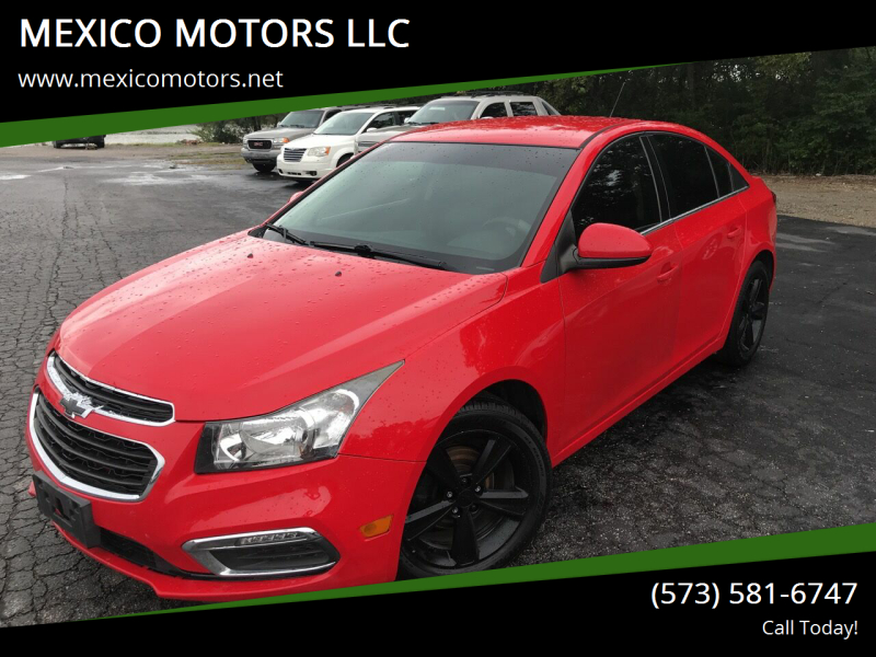 2015 Chevrolet Cruze for sale at MEXICO MOTORS LLC in Mexico MO