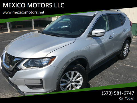 2017 Nissan Rogue for sale at MEXICO MOTORS LLC in Mexico MO