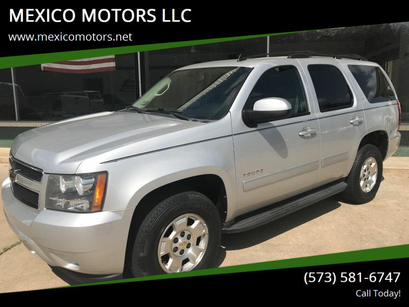 2010 Chevrolet Tahoe for sale at MEXICO MOTORS LLC in Mexico MO