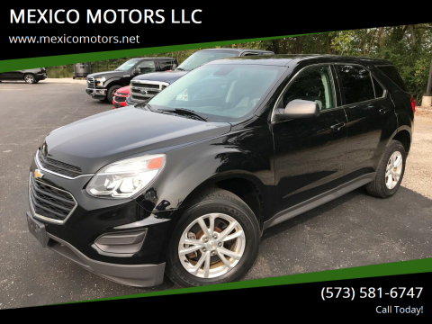2017 Chevrolet Equinox for sale at MEXICO MOTORS LLC in Mexico MO