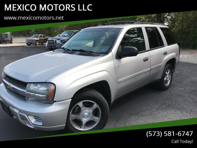 2008 Chevrolet TrailBlazer for sale at MEXICO MOTORS LLC in Mexico MO