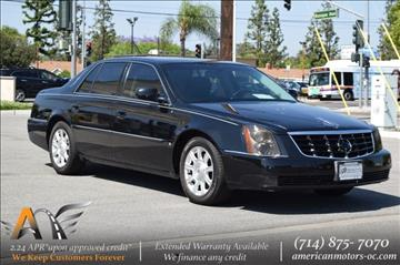 2008 Cadillac DTS for sale in Fullerton, CA