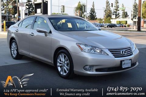 2012 Lexus ES 350 for sale in Fullerton, CA