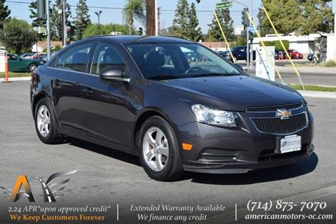 2014 Chevrolet Cruze for sale in Fullerton, CA