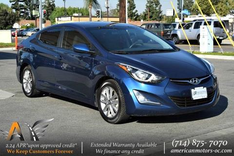 2016 Hyundai Elantra for sale in Fullerton, CA